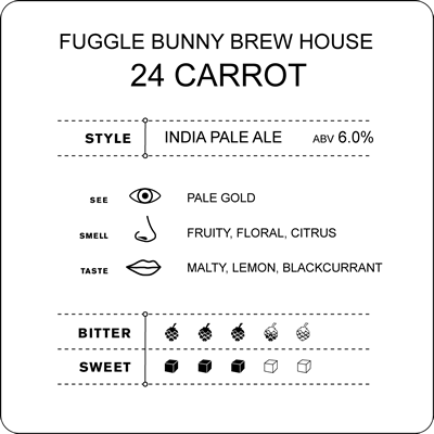 Cyclops report on Fuggle Bunny Brew House – 24 Carrot