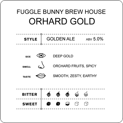 Cyclops report on Fuggle Bunny Brew House – Orchard Gold